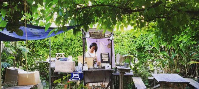 【冲绳→银座】国际通小巷隐匿庭园咖啡「云雀屋」快闪店现身银座LOFT