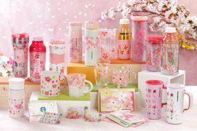 2017樱花季,星巴克推出35款绝美赏樱周边及2种樱花饮品