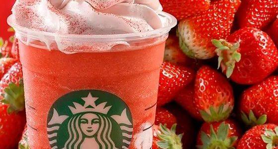 【星巴克必喝】草莓霹雳多星冰乐新品登场,代官山星巴克草莓温室店期间限定OPEN!