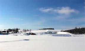 【北海道】北海道的大地,富良野的雪