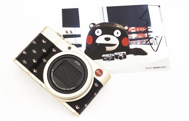 庆祝熊本熊Kumamon出道10周年!莱卡相机推出限量版纪念相机
