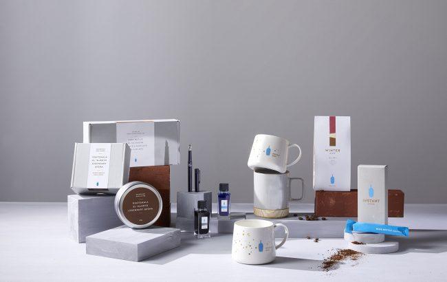 日本BLUE BOTTLE COFFEE 推出2019节庆限定商品,蓝瓶粉文具控都不能错过的必收好物