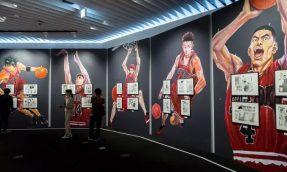 「教练,我想打篮球!」日本少年漫画周刊JUMP创刊50年展,东京六本木森美术馆登场