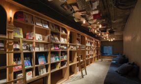 睡在书店里?BOOK AND BED TOKYO旅店满足爱书人