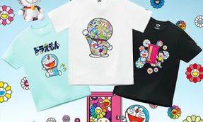 【必买商品】村上隆 X 哆啦A梦 X UNIQLO UT跨界合作,推出系列印花UT及同款玩偶