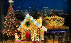 【东京必去】TOKYO DOME CITY冬季灯饰将打造甜蜜梦幻糖果屋世界