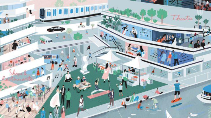 【东京】滨离宫、滨松町站全新商业设施「竹芝 WATERS takeshiba」登场