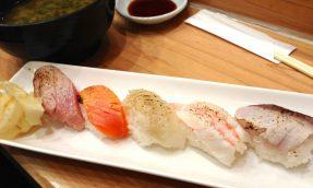 【新宿必吃】藏在新宿站的美食SHINODA寿司
